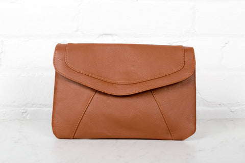 grand sac a main vintage marron