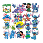 Stickers Vintage Lilo et Stitch