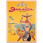 affiche jamaica west indies