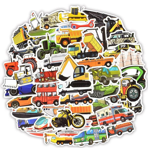 Stickers Vintage Voiture