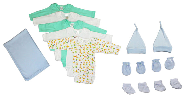 Newborn Baby Boy 12 Pc Layette Baby Shower Gift