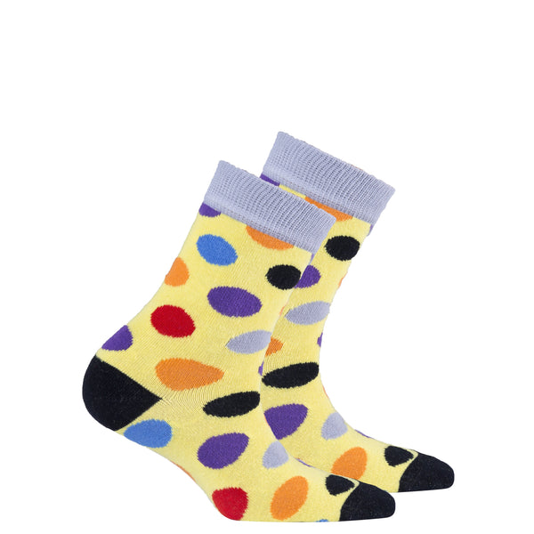 Kids Blonde Dot Socks