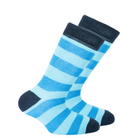 Kids Black Sky Stripe Socks
