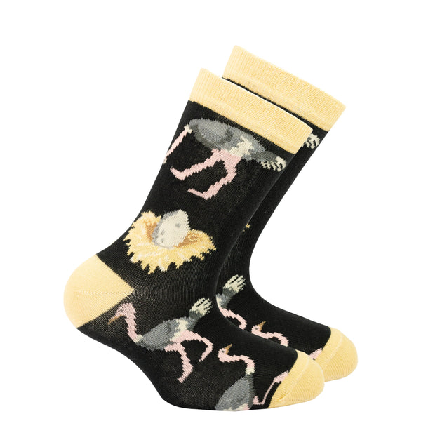 Kids Ostrich Socks