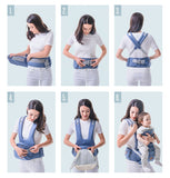 Ergonomic Front Facing Hip Seat Baby Carrier