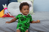 Baby Green Watercolor Onesie