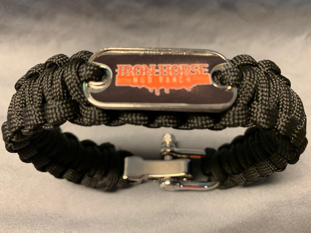 Iron Horse Mud Ranch Paracord Bracelet