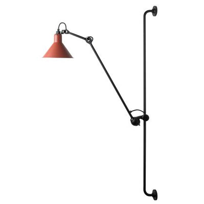 LAMPARA MURO XL INDUSTRIAL RED/BLACK