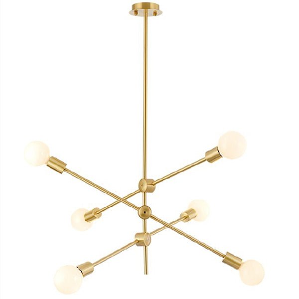 LAMPARA COLGANTE BRASS/WHITE
