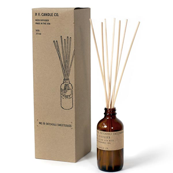 Difusor: Patchouli Sweetgrass 3 oz
