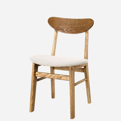 SILLA SPLIT NATURAL CON ASIENTO BLANCO