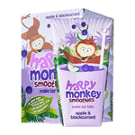 Load image into Gallery viewer, Happy Monkey Apple and Blackcurrant Smoothies