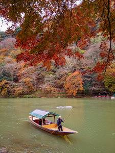 Arashiyama in the fall