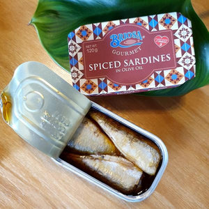 Briosa Gourmet Spiced Sardines in Olive Oil