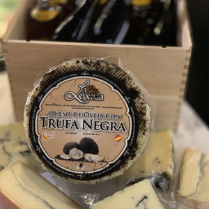 Black Truffle Spanish Cheese Queso Oveja con Trufa Negra (whole wheel)