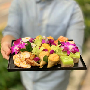 Thai Delights L Lacquered Tray (3-5pax)