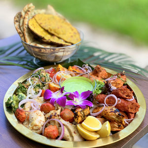 The 'Royal Tashtari' Tandoor Golden Platter