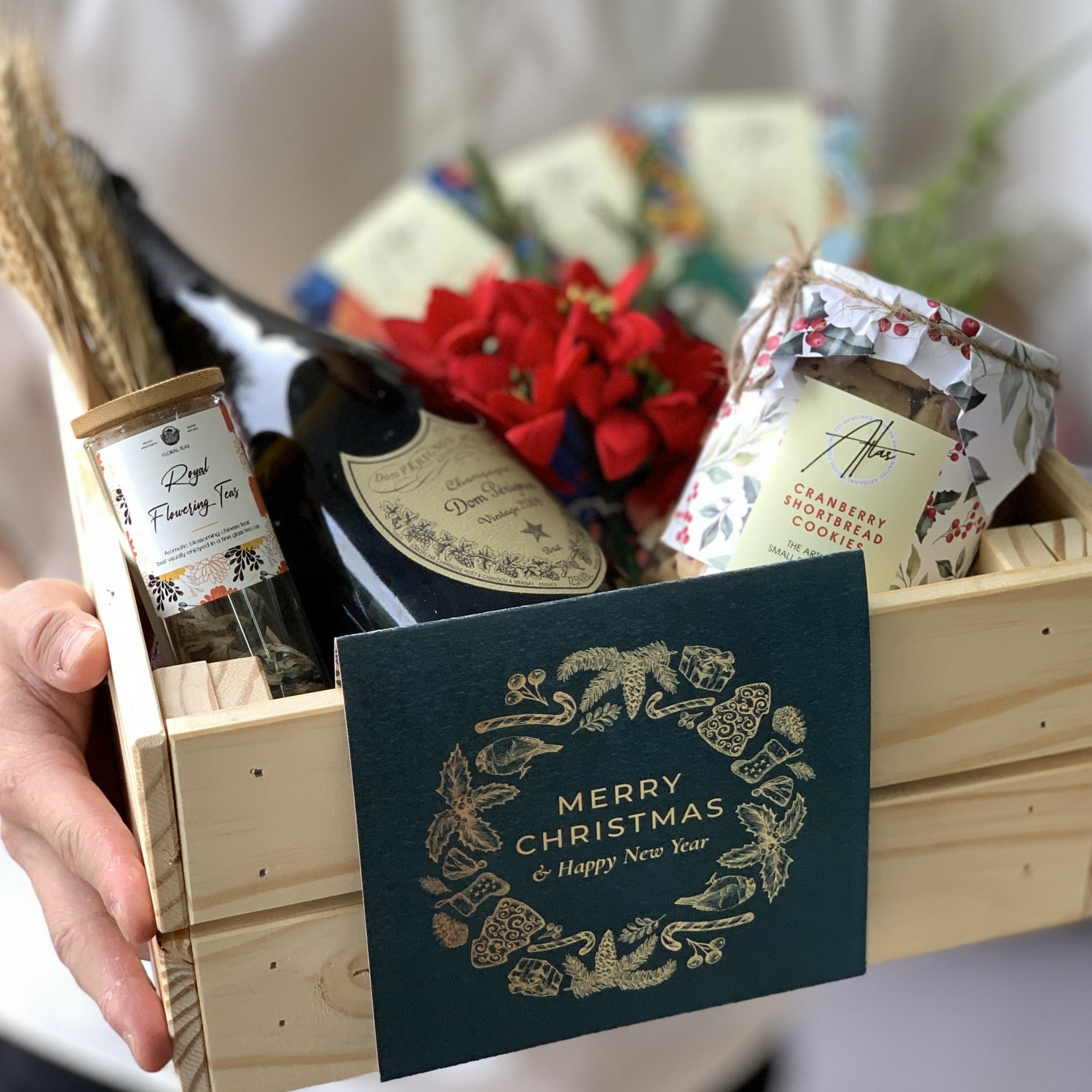 Dom Perignon x Gourmand Holiday Hamper