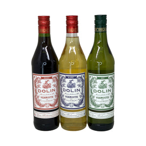 3 Dolin Vermouth