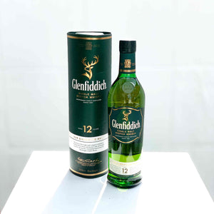 Glenfiddich Single Malt Scotch 12 Years Whisky