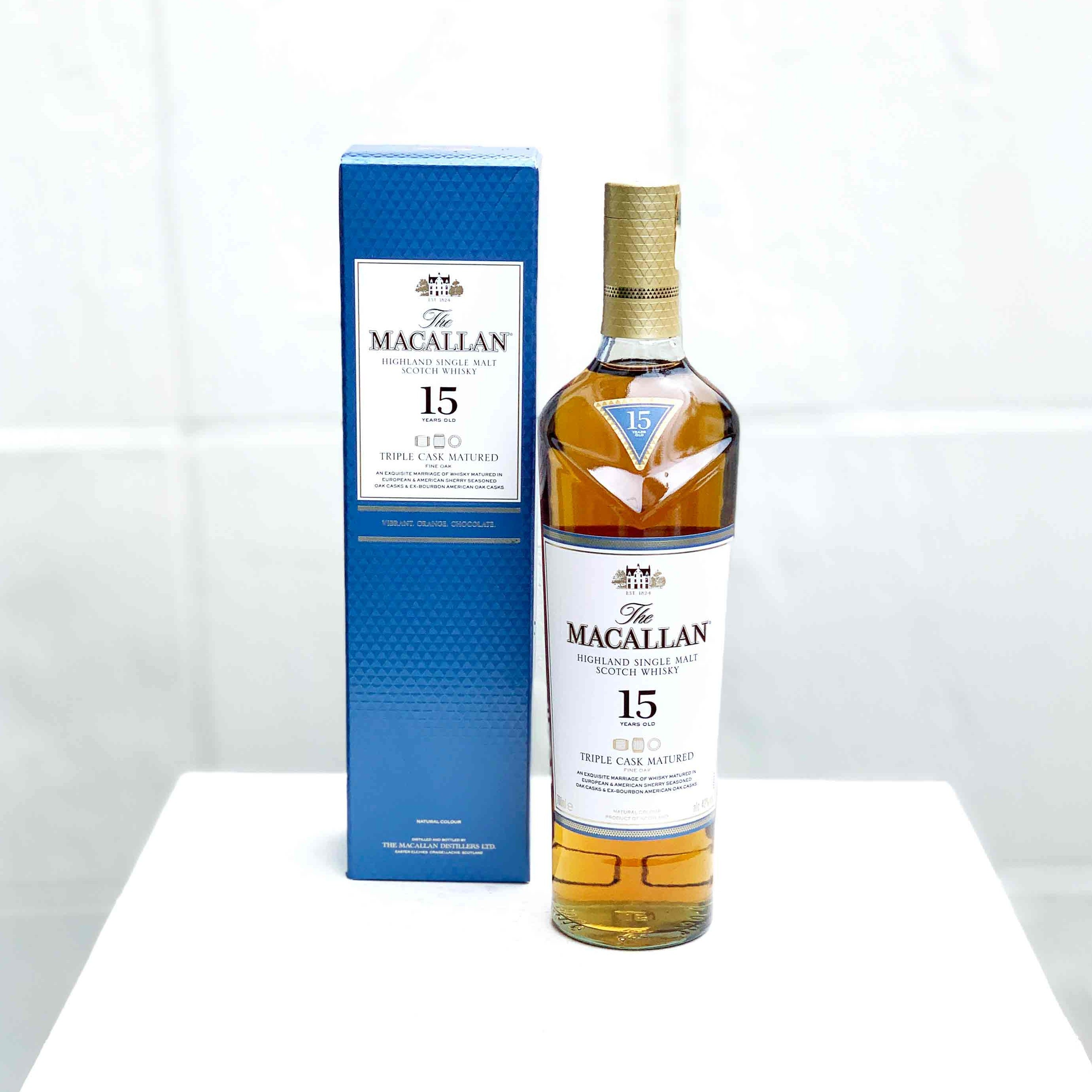 The Macallan 15 Year Old Triple Cask Matured Single Malt Scotch Whisky
