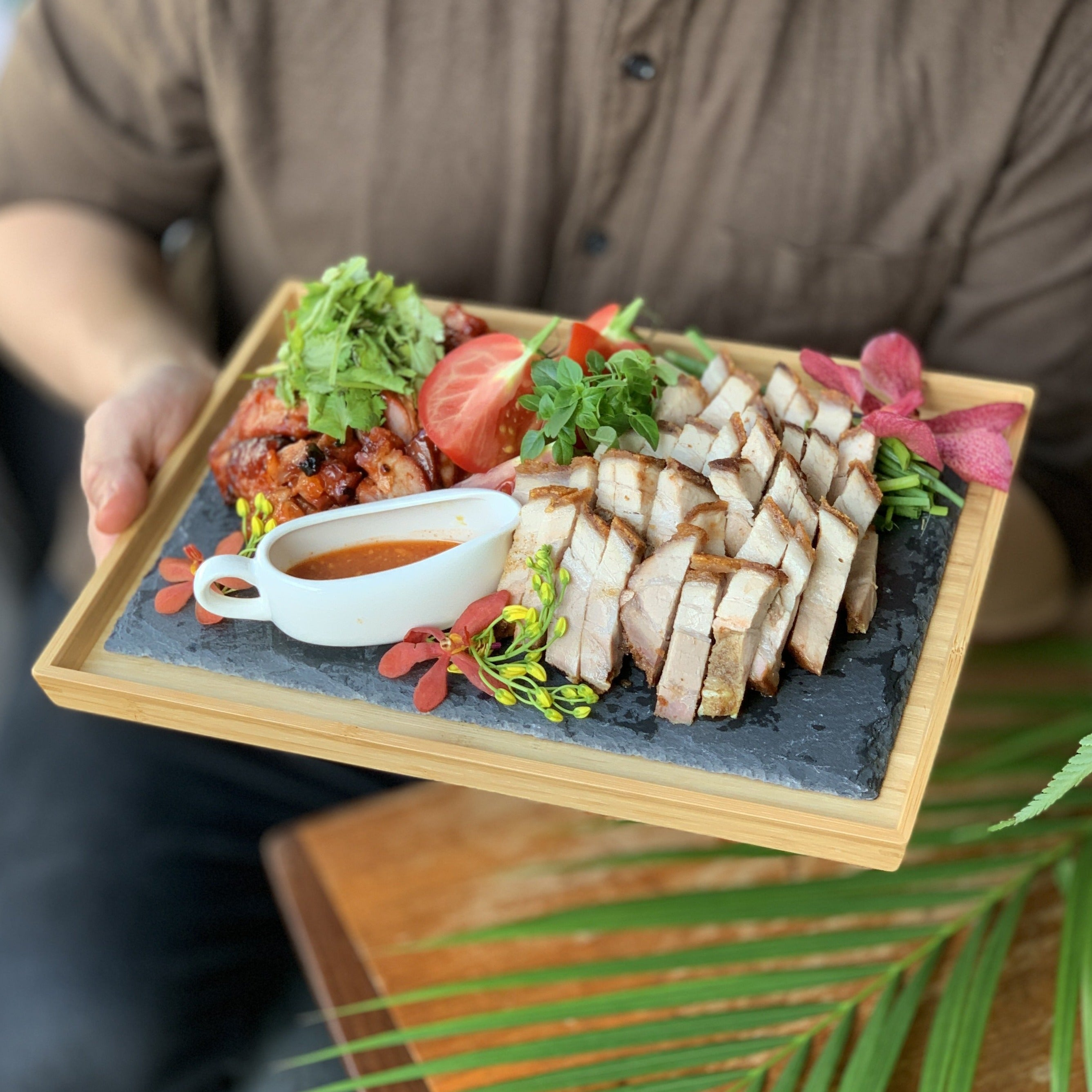 Roast Pork and Char Siew Platter (5 pax)
