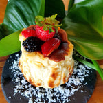 Load image into Gallery viewer, Gluten-free Burnt Cheese Cake (Coconut)