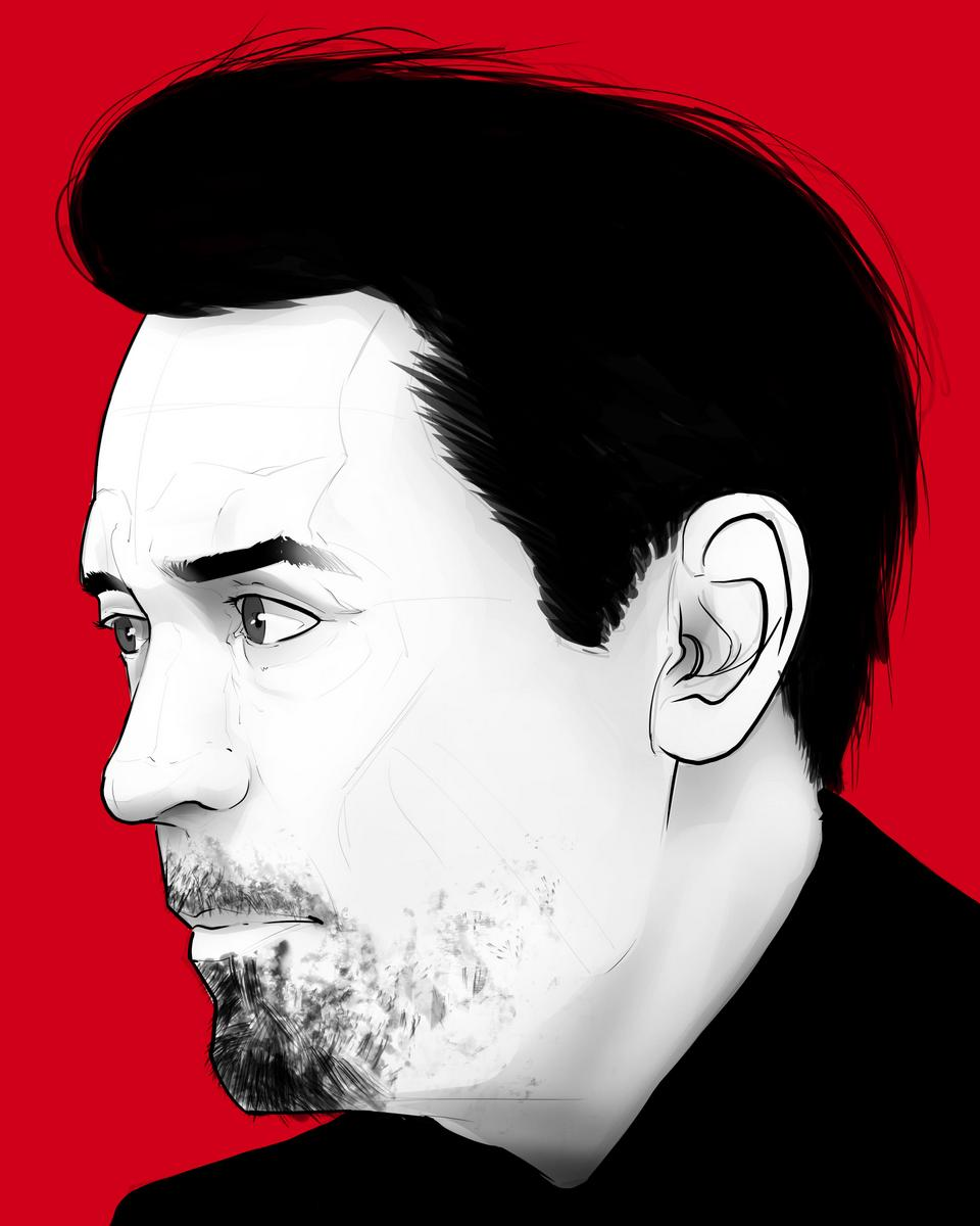 Portraits: @robertdowneyjr by Mike