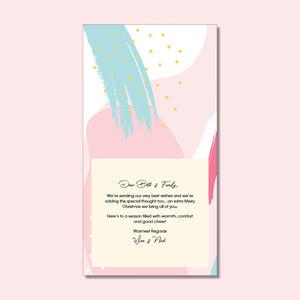 Thank You Card - Pastel Power