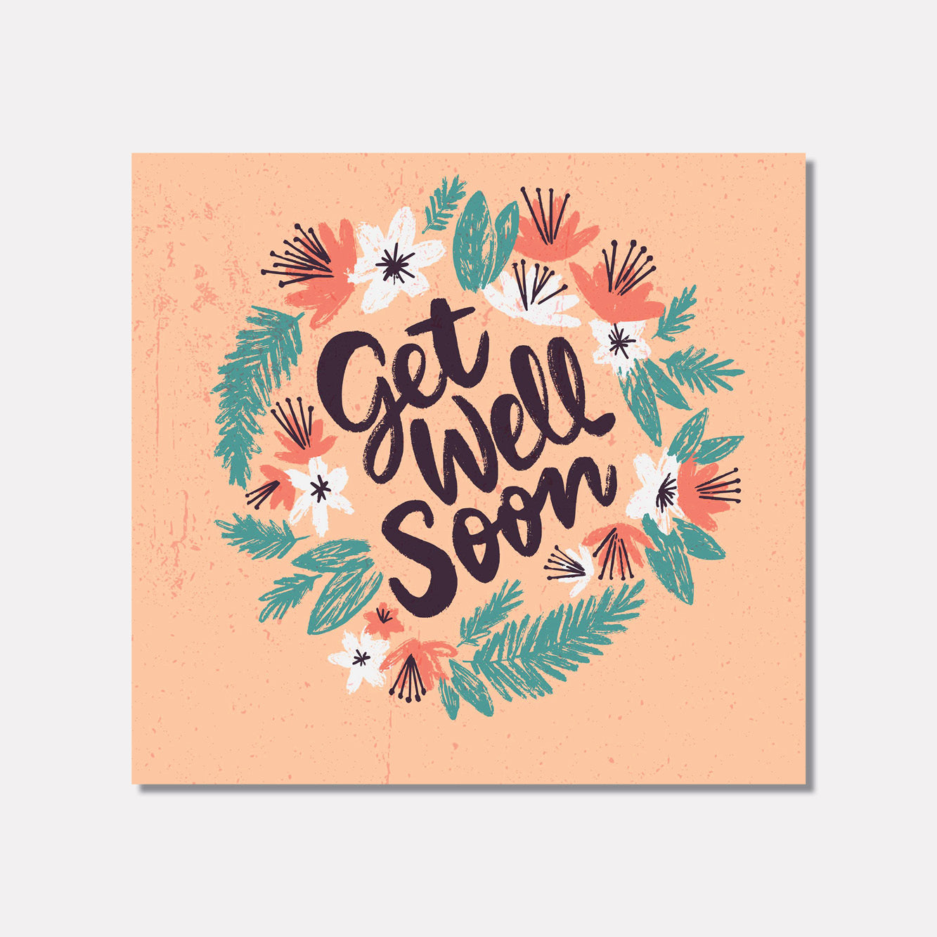 Get Well Soon - Flora Illustrations