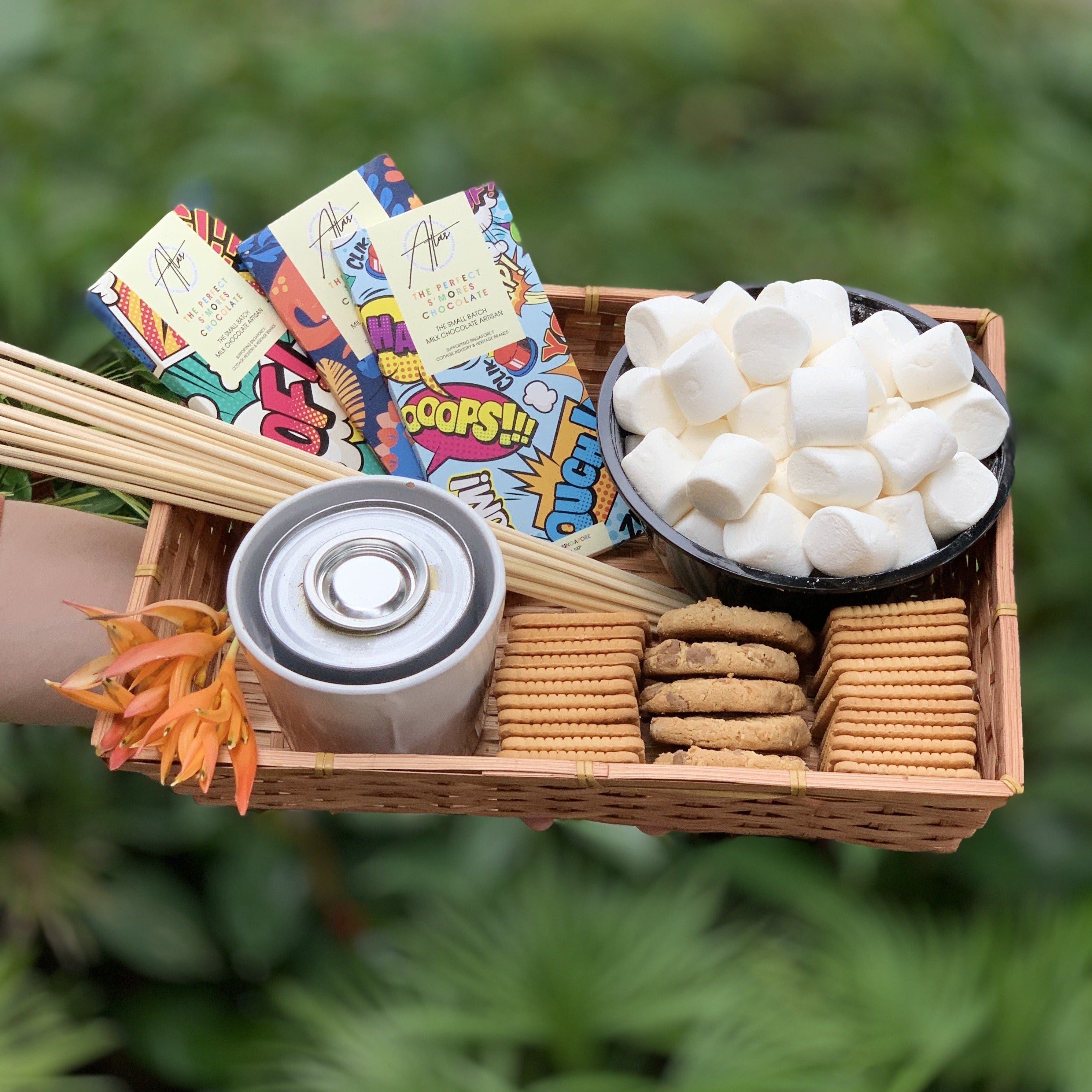 The Perfect S'mores Picnic Basket (4-6 Pax)