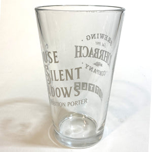 "Pint Glass : ""House of Silent Shadows"" Porter"