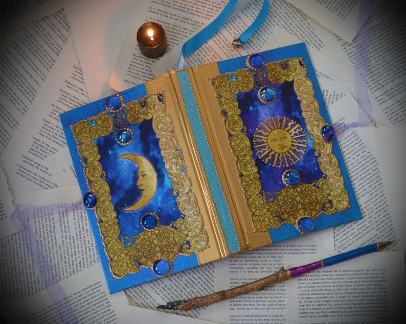 Sun and Moon Book Of Shadows