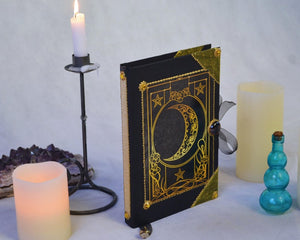 Art Deco Moon Book Of Shadows