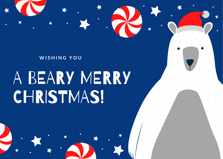 Beary Merry Card