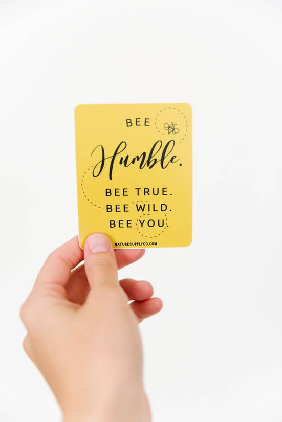 Bee Humble Sticker