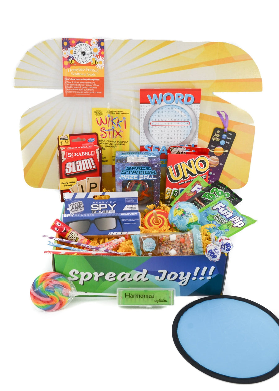 boredom buster care package gift greeting card free shipping