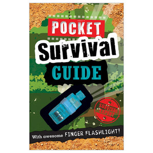 camping survival guide book camp care package birthday gift outdoors exploring kids greeting card