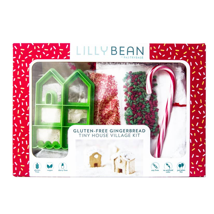 Gingerbread House Kit - GF, Vegan