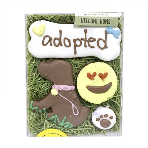 Adopted Dog Treat Set