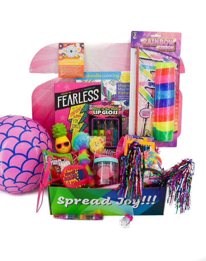 kids care package activities boredom buster gifts birthday greeting card daughter gift friend