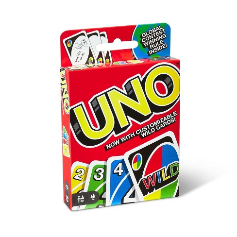 uno card game boredom buster care package gift free greeting card free shipping gift