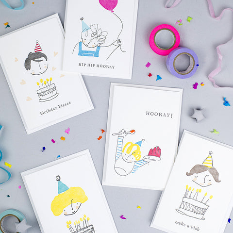 Little Prickle - Five Birthday Cards just £11