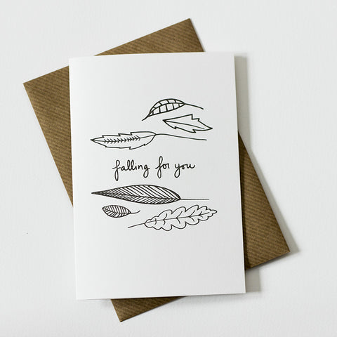 Whimsical Card - Falling For You