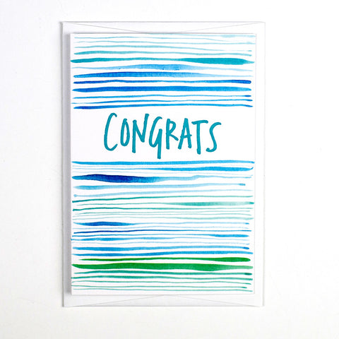 Pattern Card - Congrats