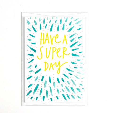 Pattern Card - Have a Super Day