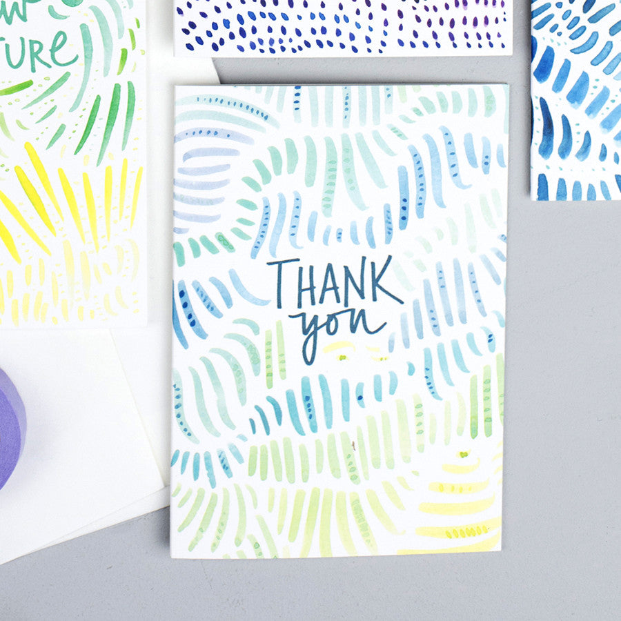 Pattern Card - Thank you Rainforest