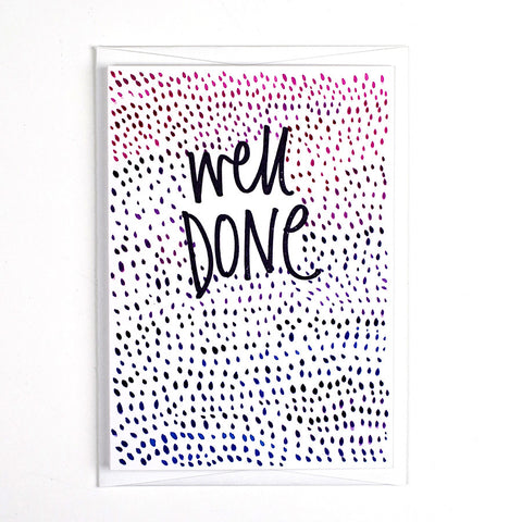 Pattern Card - Well Done