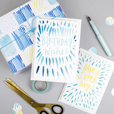 Pattern Card - Birthday Wishes