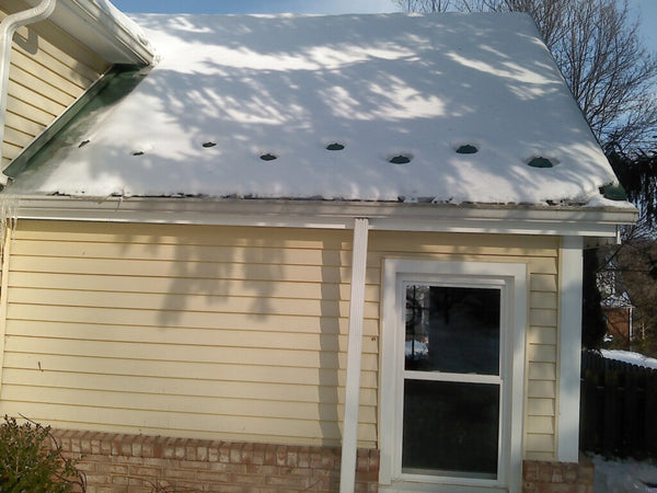 Standing Seam Snow Guard on Roof
